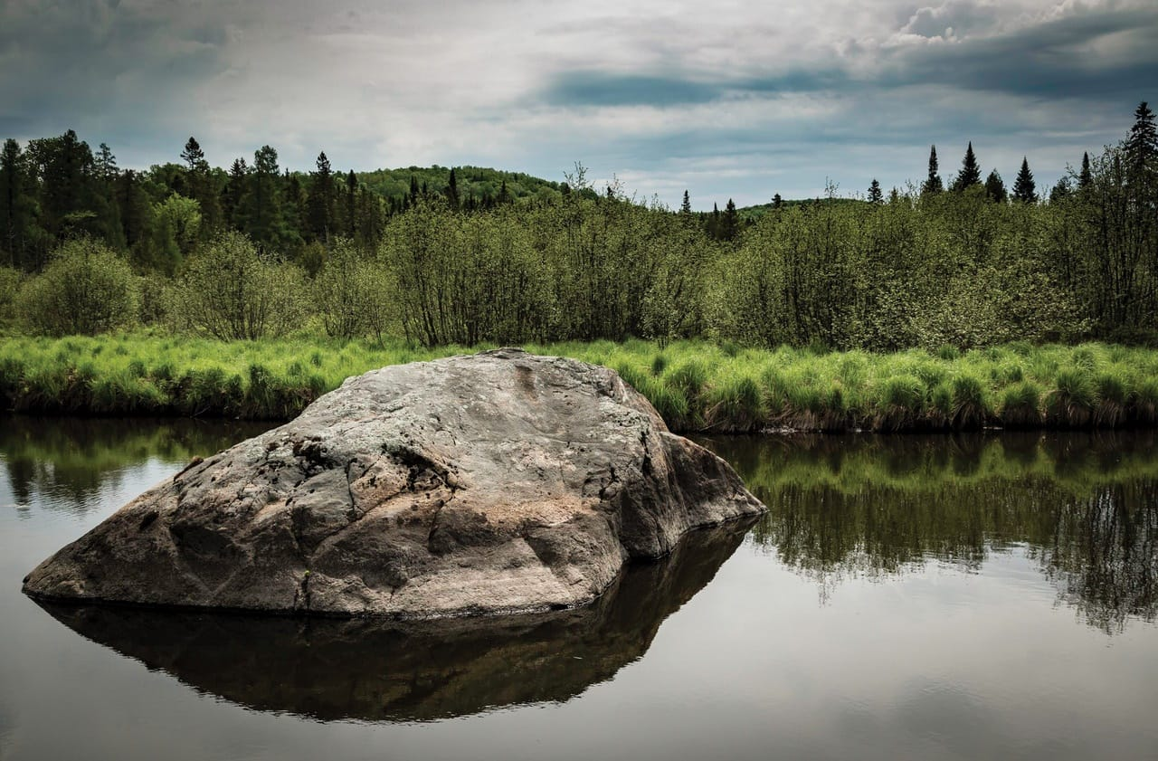 215 acres of land in conservation in Morin-Heights
