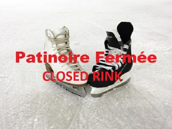 PERMANENT CLOSURE OF THE ICE RINK